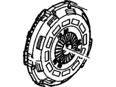 Chevrolet Clutch Disc - 89059411