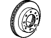 Buick Allure Brake Disc - 23127614