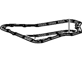 Cadillac Seville Oil Pan Gasket - 24209512
