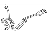 GM Cooling Hose - 15764375