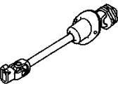 Hummer H3 Steering Shaft - 19256702