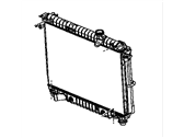 Chevrolet Trailblazer Radiator - 15196386