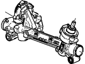 Chevrolet Rack And Pinion - 20857570