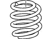 Buick Coil Springs - 15232942