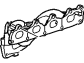 Saturn Exhaust Manifold - 90537679