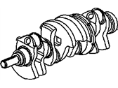 Saturn LW2 Crankshaft - 90509018