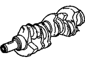 Oldsmobile Calais Crankshaft - 25519733