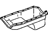 Pontiac Grand Am Oil Pan - 10044676