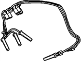 Saturn Relay Spark Plug Wires - 19351586