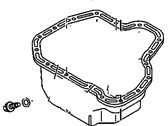 Chevrolet Oil Pan - 98073535