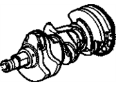 Chevrolet Equinox Crankshaft - 12661873
