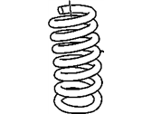 Cadillac Coil Springs - 25871196