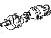 GMC K2500 Crankshaft - 336782