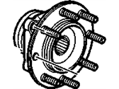 Cadillac Wheel Bearing - 88964168