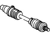 Oldsmobile Axle Shaft - 26019843