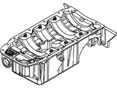 Saturn Oil Pan - 55561654