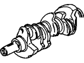 Oldsmobile Calais Crankshaft - 10044539
