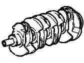 Saturn Crankshaft - 12791966
