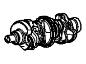 Chevrolet Equinox Crankshaft - 12598044