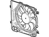 Chevrolet Spark Radiator fan - 95205516