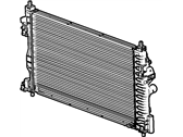 Buick Allure Radiator - 23453634