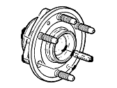 Cadillac Wheel Bearing - 23356814