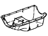 Oldsmobile Firenza Oil Pan - 14081706