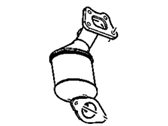 Cadillac Catalytic Converter - 20926629