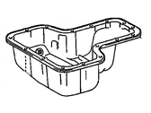 Pontiac Vibe Oil Pan - 88970160
