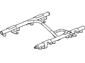 Chevrolet Corvette Fuel Rail - 12633511