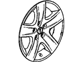 Pontiac Wheel Cover - 9597538