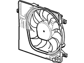 Chevrolet Spark Radiator fan - 95205515