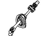 Chevrolet Captiva Sport Steering Shaft - 20871475