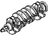 Saturn Crankshaft - 55569765