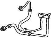 Oldsmobile Cooling Hose - 12472306