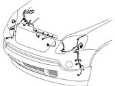GM 22798964 Harness Asm-Fwd Lamp Wiring