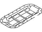 Chevrolet Nova Oil Pan Baffle - 94846159