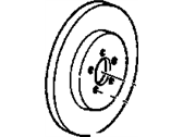 Buick Allure Brake Disc - 19303816