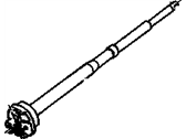 Chevrolet K1500 Steering Shaft - 26033170
