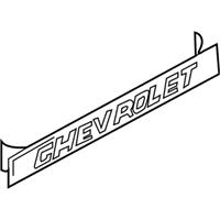 GM Genuine 15672011 End Gate Decal