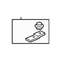 GM OEM Radiator-Lower Seal 13394455