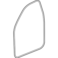 GM 23286280 WEATHERSTRIP ASM-FRT S//D DOOR SI
