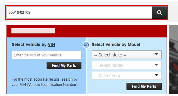 How Can I Search by Part Number and Verify Fitment - GM