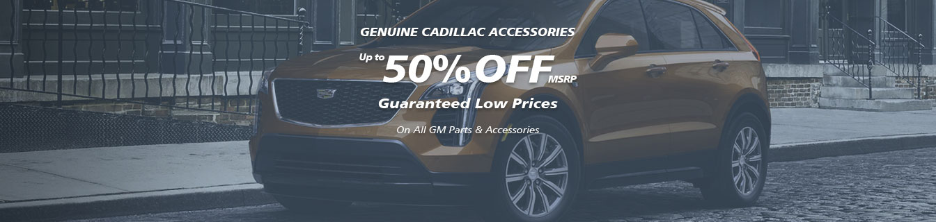Genuine CTS accessories, Guaranteed lowest prices