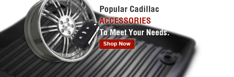 Popular Cadillac accessories to meet your needs