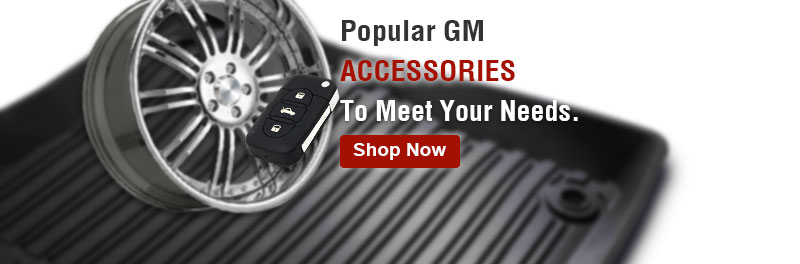 Popular GM accessories to meet your needs